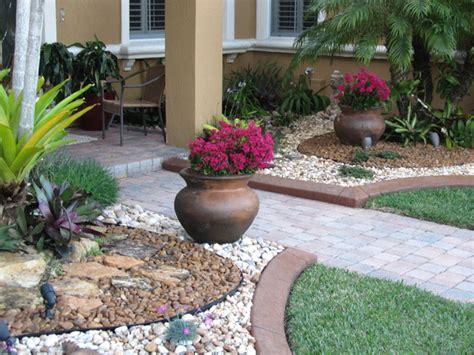 Fla Rock Garden Landscape Rock Garden Miami