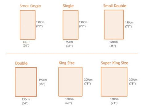 dimensions for king size bed width of a double bed double size bed queen and king size