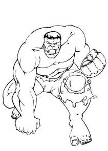 the incredible hulk coloring pages hulk so strong