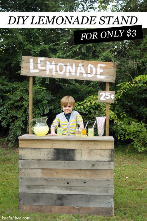 diy lemonade stand diy roadside lemonade stand for only 3