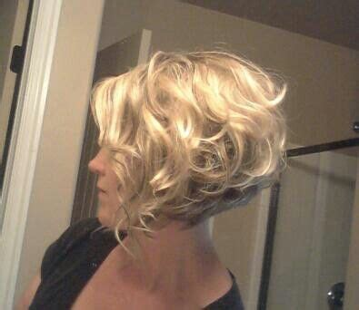 redbook short curly stacked bob for thin hair stacked a line bob haircut hair awesomeness pinterest