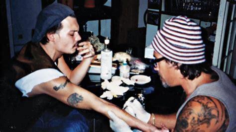 johnny depp girlfriend tattoo how tattoo artist jonathan shaw became the next bukowski