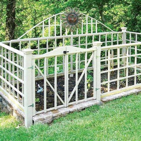 reader project stylish  secure garden fence family