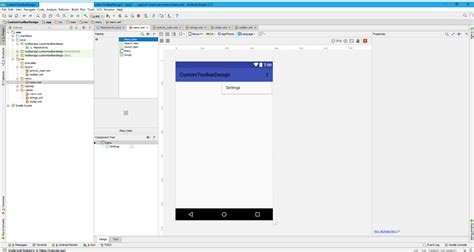 android studio layout drag and drop drag and drop not working menu item android studio