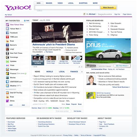 yahoo homepages the years kara swisher news