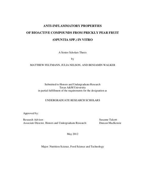 undergraduate thesis advisor undergrad scholar thesis
