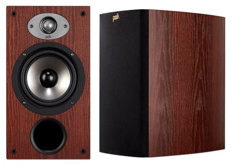 polk audio tsx220b cherry bookshelf speakers pair ebay