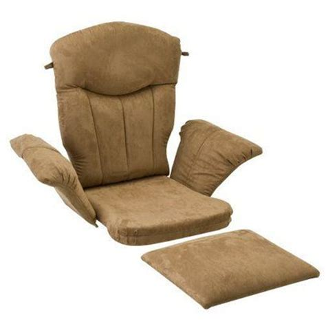glider cusions shermag glider rocker cushion set peat