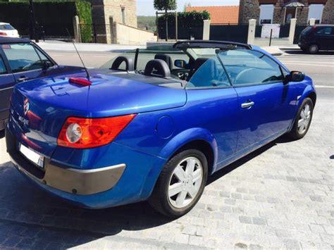 renault megane 2004 blue renault megane cc 01 2004 metallic blue lieu