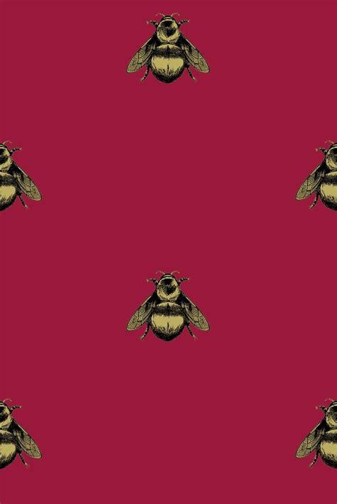 wallpaper with gold bees napoleon bee wallpaper wallpapersafari