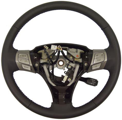 electric power steering 2008 cadillac xlr interior lighting 2007 2008 toyota solara steering wheel new oem dark gray leather w cruise audio factory oem parts