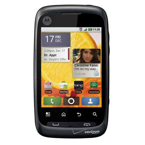 verizon android phones motorola citrus wx445 android used phone for verizon page plus cheap phones