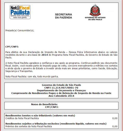 comprovante 2015 de imposto de renda comprovante imposto de renda inss 2015