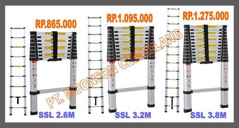 Miyo Tangan Panjang 3 6m Paling Laris tangga telescopic single tangga telescopic