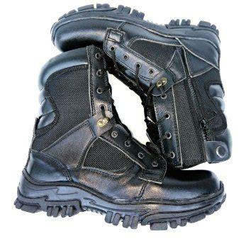 Sepatu Pdl No 46 dien sepatu pria pdl gegana kulit vs kanvas hitam