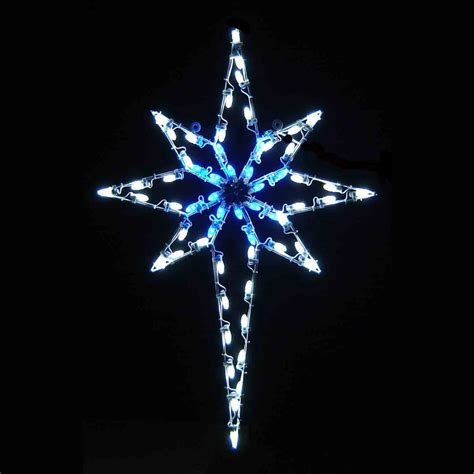 led star of bethlehem 4 8 blue white