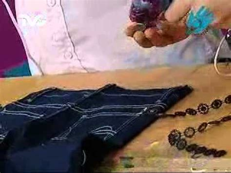 como decorar un jeans con lentejuelas c 243 mo decorar tus jeans ec youtube