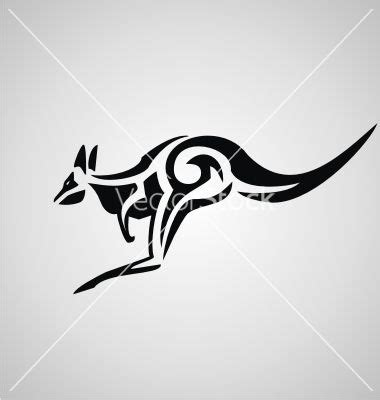 kangaroo tattoo designs 10 kangaroo tribal