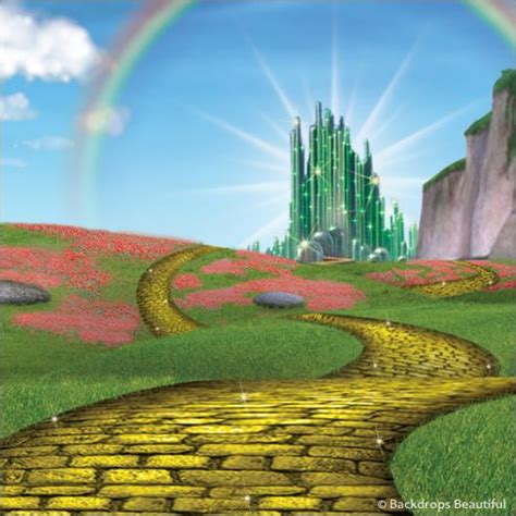 wizard of oz backdrop 2 backdrops beautiful