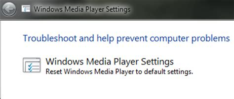 resetting windows media player library reset windows media player 12 to default settings wiredhut