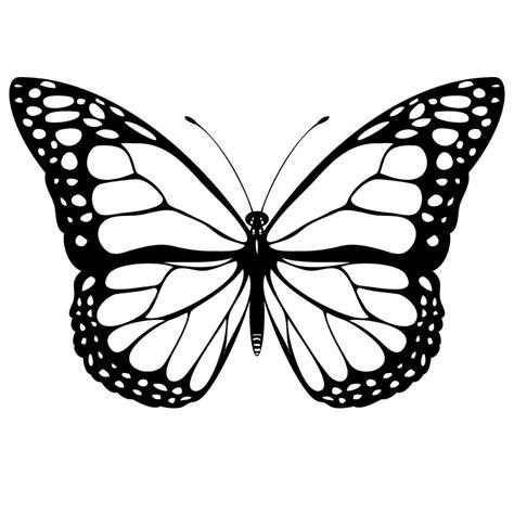 imagenes bonitas para dibujar en blanco y negro galer 237 a de im 225 genes dibujos de mariposas para colorear
