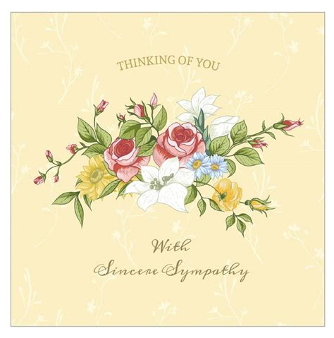 thinking of you card templates for word 7 free printable condolence and sympathy cards