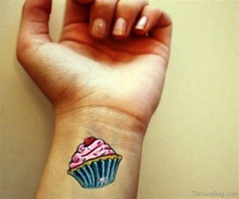 small cupcake tattoo 25 cupcake tattoos on wrist