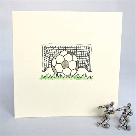 Handmade Football Cards - handmade football birthday card by chapel cards