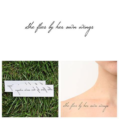 temporary tattoo quotes uk bohemia temporary tattoo set of 2