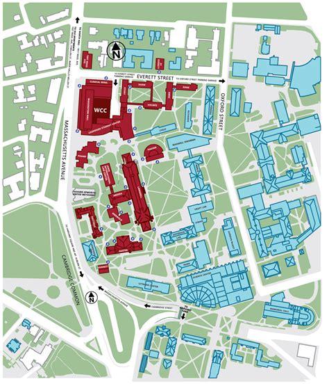 campus map  directions harvard law school