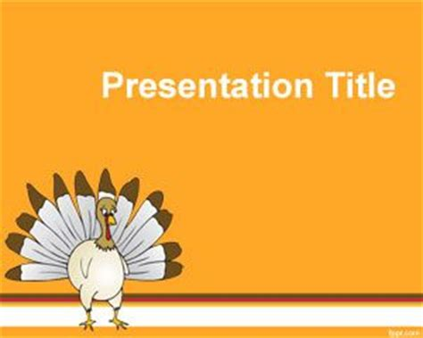 Thanksgiving Day Powerpoint Templates Turkey Powerpoint Template