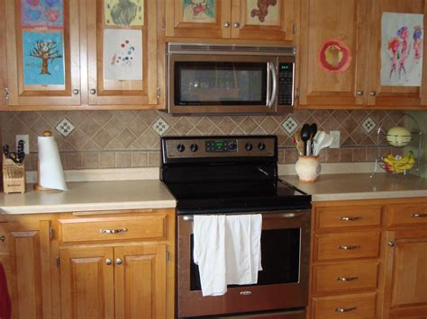 Tiles Kitchen Backsplash Homemade Backsplash Decobizz Com