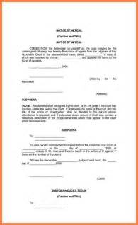 5 notice of appeal form appeal letter 2017