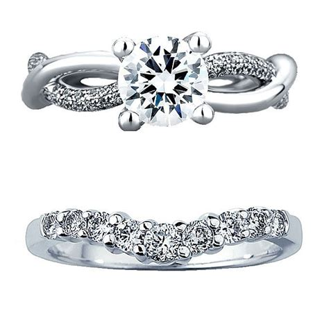 Engagement Ring With Wedding Band by How To A Wedding Band That Works With Your Engagement