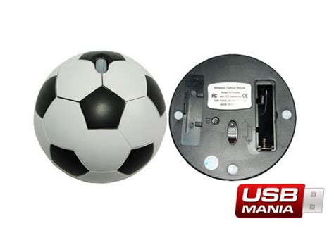 Mouse Wireless E Smile Bd500 mouse minge de fotbal usb mania