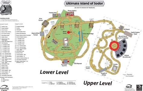 layout ultimate thomas the tank ultimate island of sodor layout