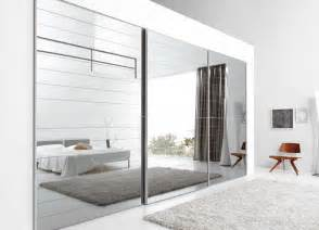 Contemporary Fitted Bedroom Furniture - novamobili crystal mirror sliding door wardrobe mirror