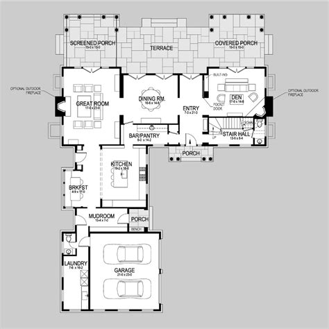 Shingle Style Floor Plans by Lily Pond Lane Shingle Style Home Plans By David Neff