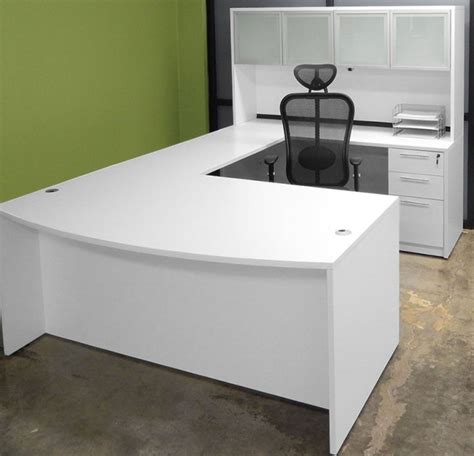 white u shaped desk u shaped desk ikea multi functional and large desk for