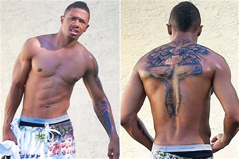 new tattoo of nick cannon nick cannon exchanged mariah for jesus 183 guardian liberty