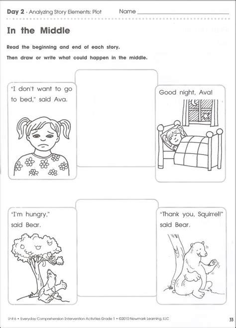 Everyday Comprehension Intervention Activities Grade 1 Judgements Worksheets For Grade 1