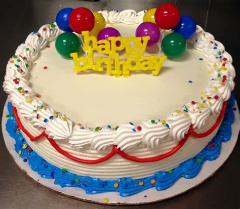 dairy cakes happy birthday dq cake with balloons my cakes