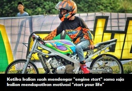 kata kata anak racing lucu terbaru captionkata