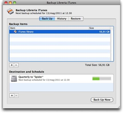 backup libreria itunes come fare il back up della libreria di itunes spider mac