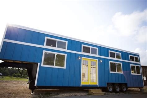 tiny house for family of 5 357 sq ft tiny home on wheels for family of 5