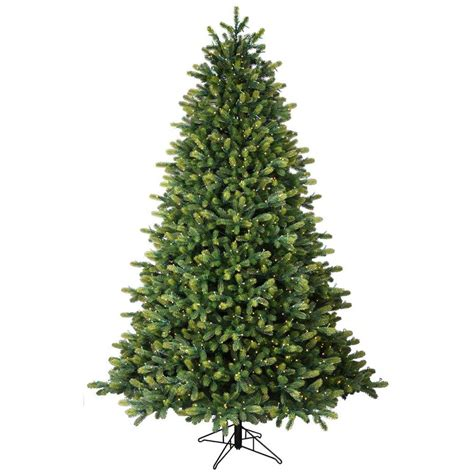 ge constant on xmas tree bbs ge 7 5 ft pre lit hton spruce artificial tree with 1500 constant warm white led