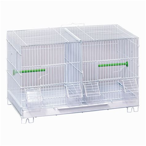 small cage stack lock breeder pet bird cage small bird cage for canary finch parakeet