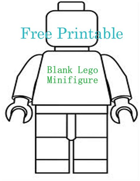 blank lego coloring pages printable lego birthday invitations blank lego