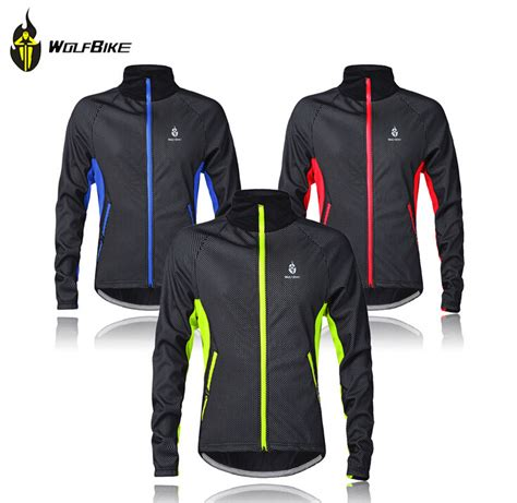 winter cycling jacket mens wolfbike mens winter cycling jackets windproof bike
