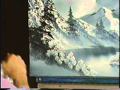 bob ross painting gray bob ross the of painting a cold winter